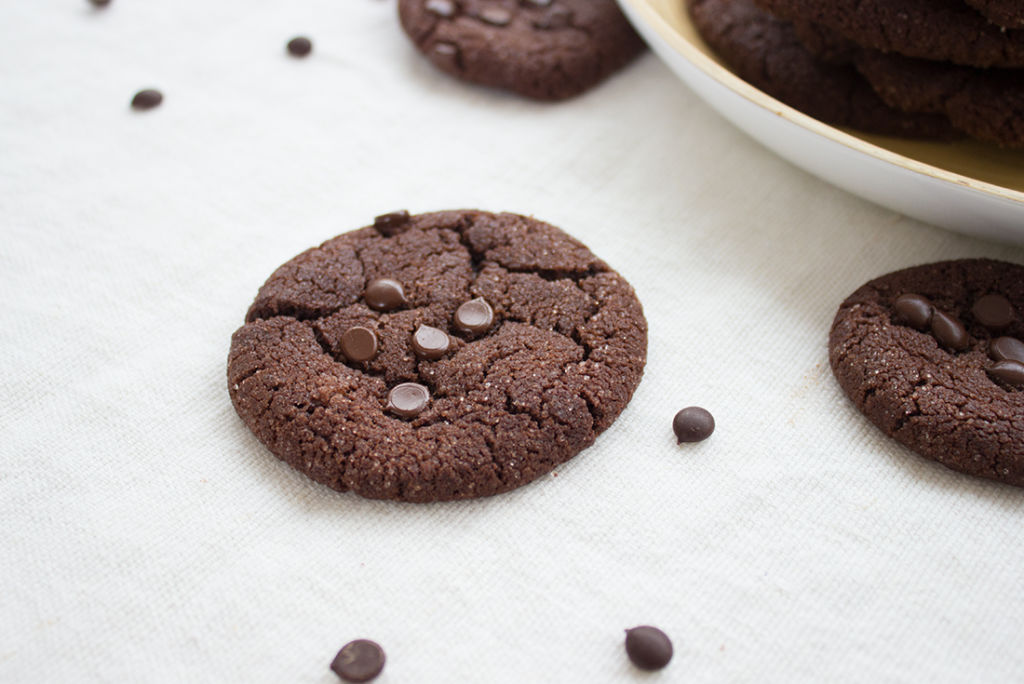 Perfekt für den Keksvorrat: Double Chocolate Chip Cookies