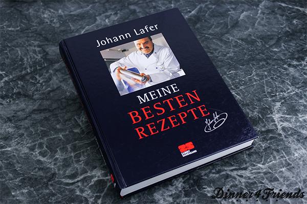 """Das Kochbuch """"Meine besten Rezepte"""" von Johann Lafer hilft auch Anfängern in der Küche, dass exzellentes Essen auf den Tisch kommt. Nebenbei hinterlassen die Gerichte auch bei Gästen einen tollen Eindruck vom Koch!"""