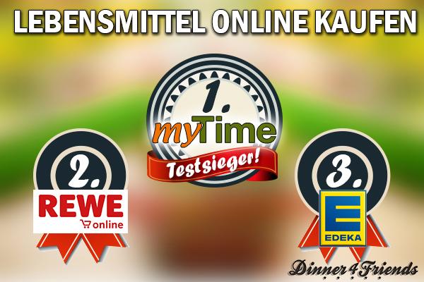 Wer Lebensmittel online kaufen möchte, der ist bei unserem Testsieger www.mytime.de auf der sicheren Seite.