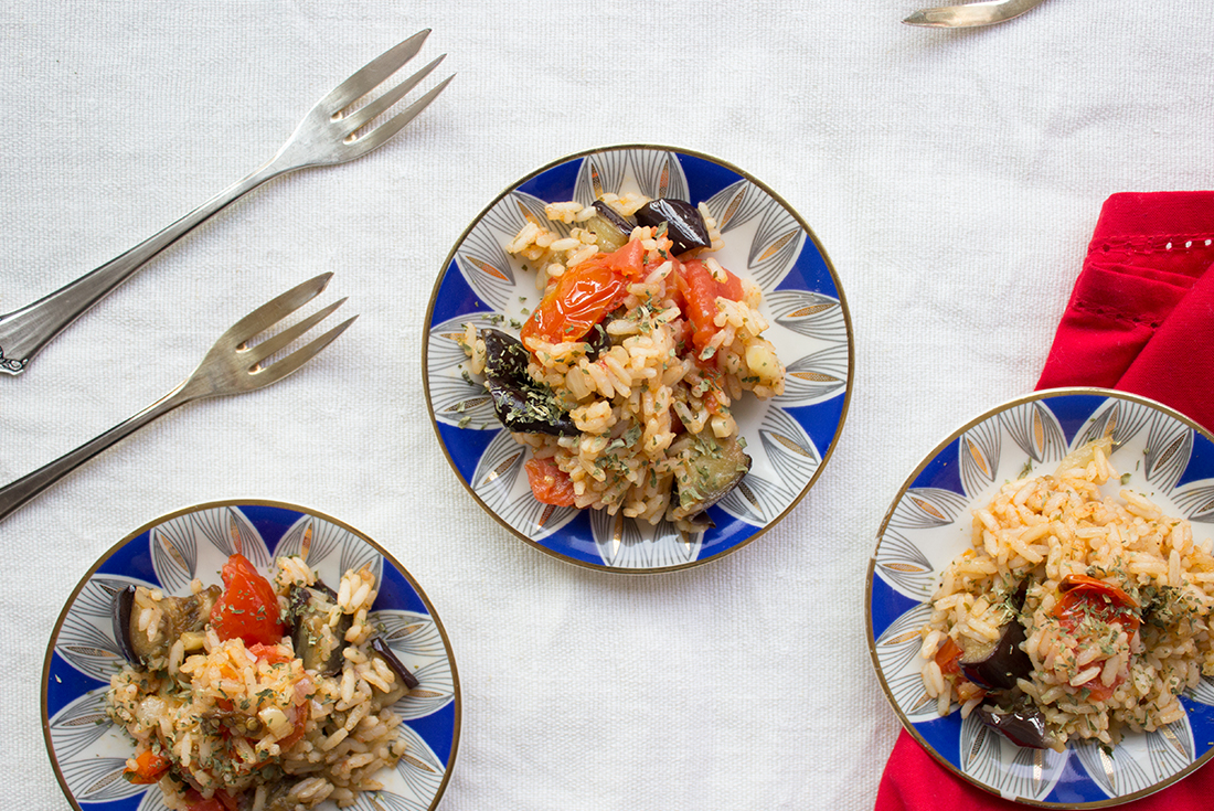 Veganer Reissalat